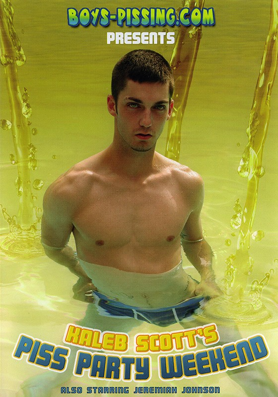 Kaleb Scott's Piss Party Weekend DVD - Front