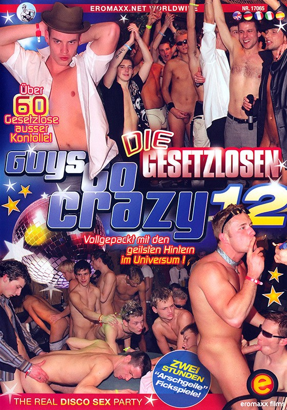 Guys Go Crazy 12: Outlaws DVD - Front
