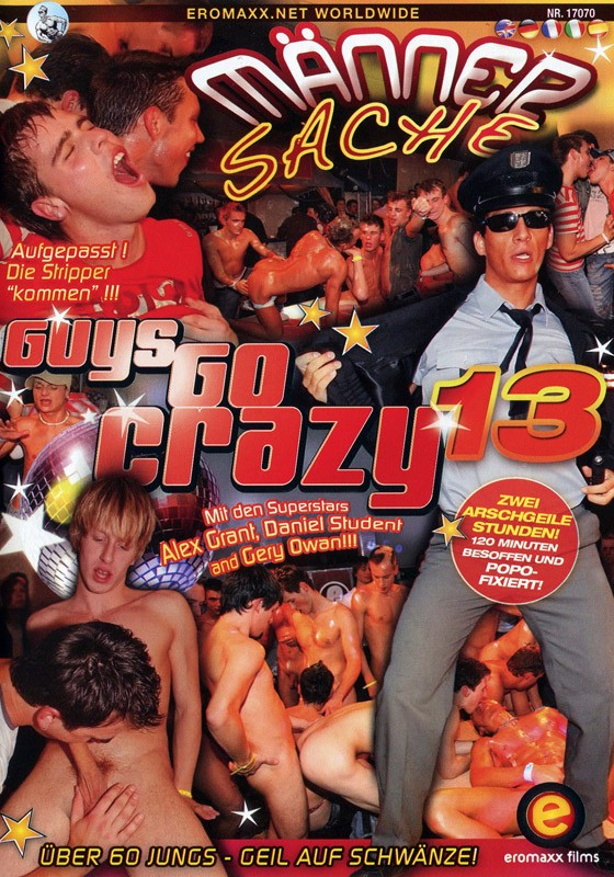 Guys go Crazy 13: Maenner Sache DVD - Front