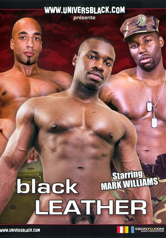 Black Leather DVD - Front