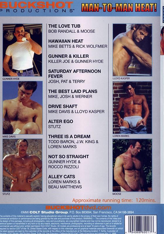 Man to Man Heat DVD - Back