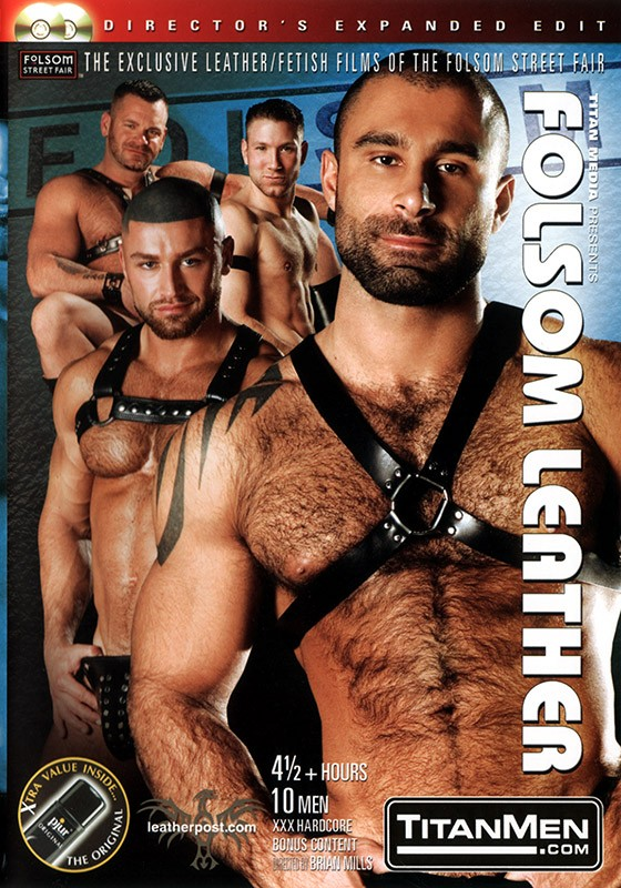 Folsom Leather DVD - Front