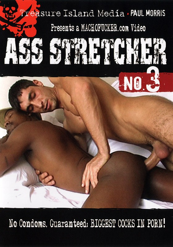 Ass Stretcher 3 DVD - Front