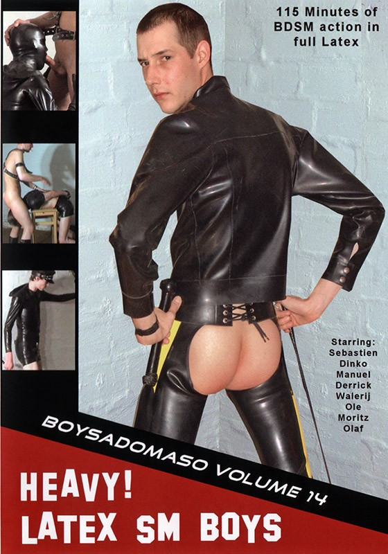 HEAVY! Latex SM Boys DVD - Front