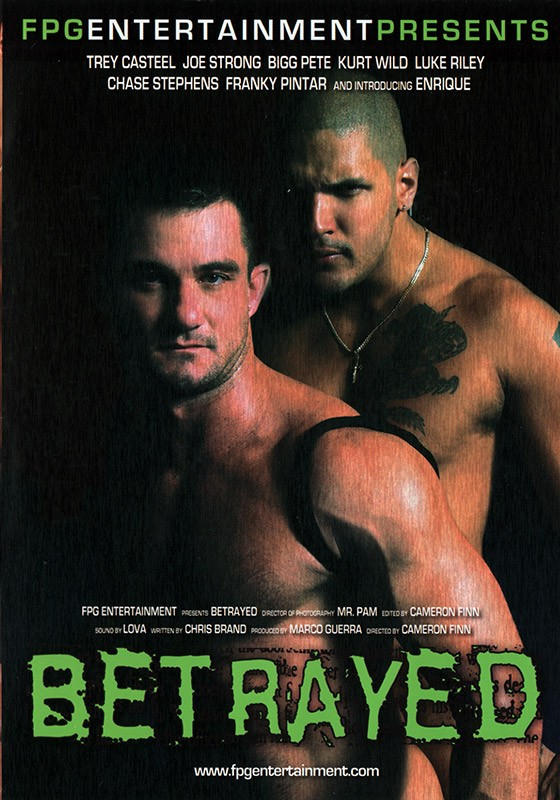 Betrayed DVD - Front