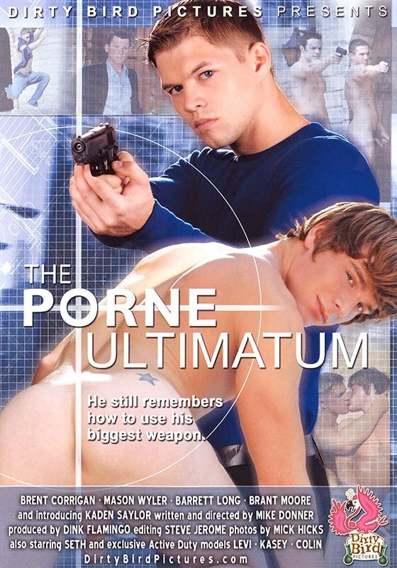 The Porne Ultimatum DVD - Front