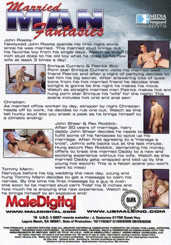 Married Man Fantasies DVD - Back