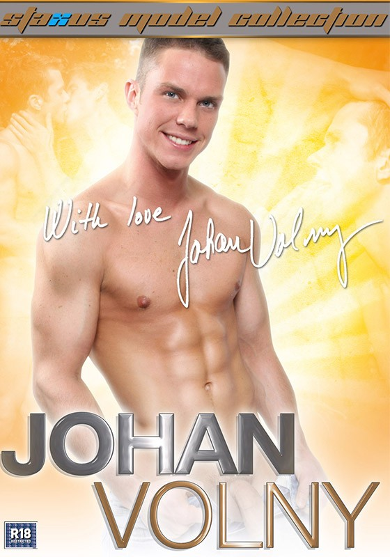 Staxus Model Collection 11: Johan Volny DVD - Front