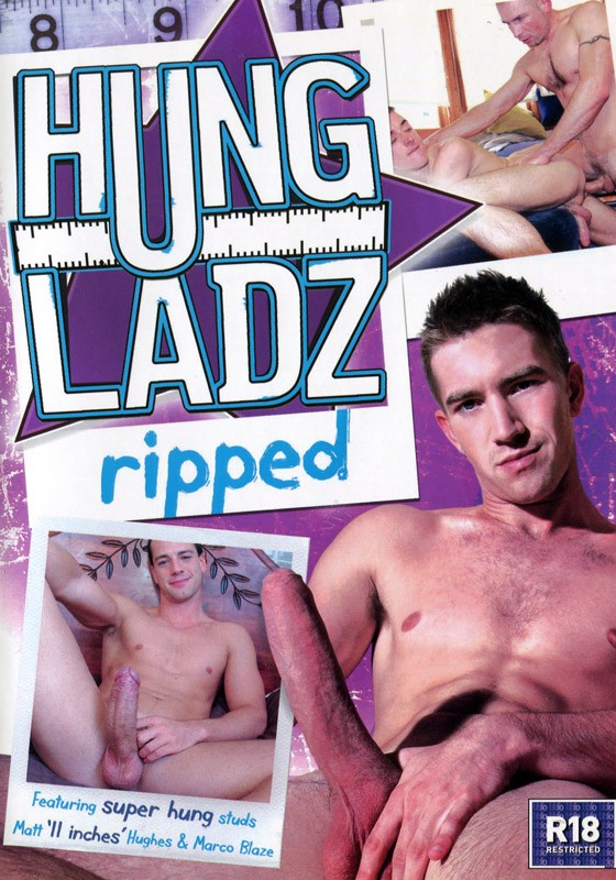 Hung Ladz: Ripped DVD - Front