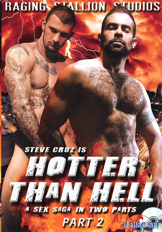 Hotter than Hell part 2 DVD - Front