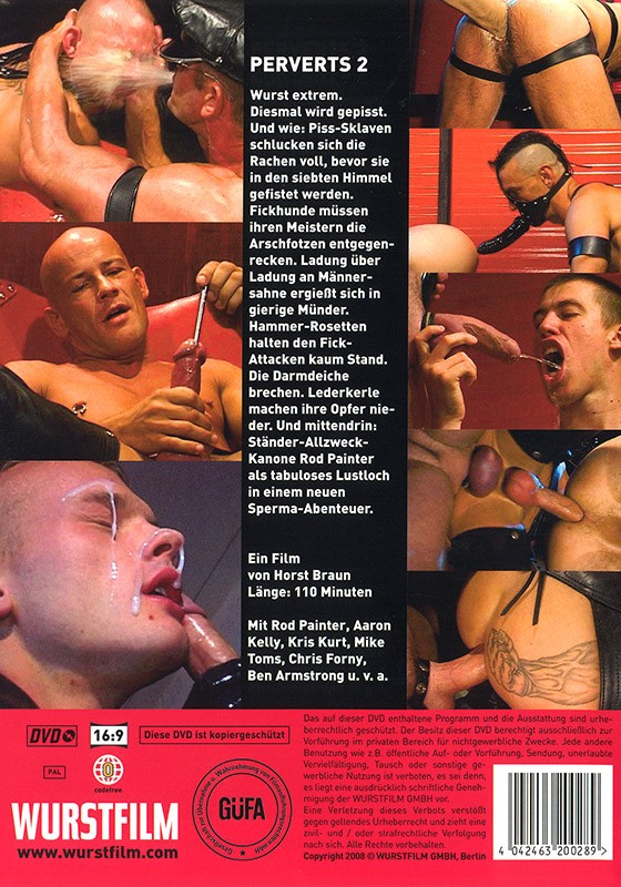 Perverts 2 DVD - Back