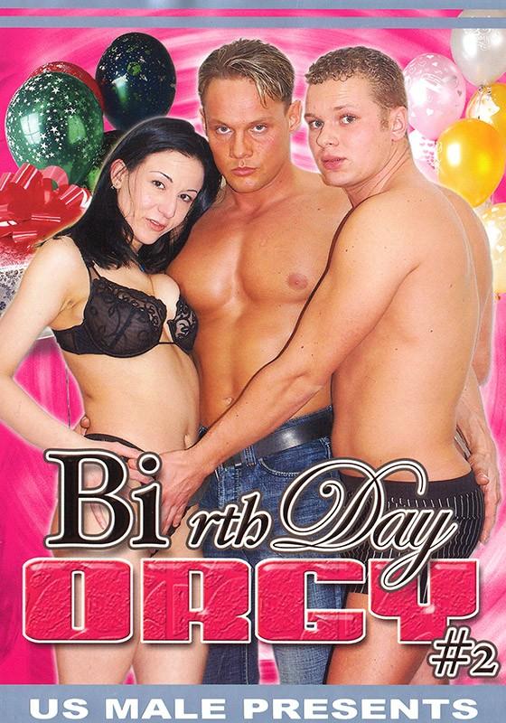 BI-rthday Orgy 2 DVD - Front