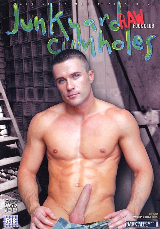Junkyard Cumholes DVD - Front