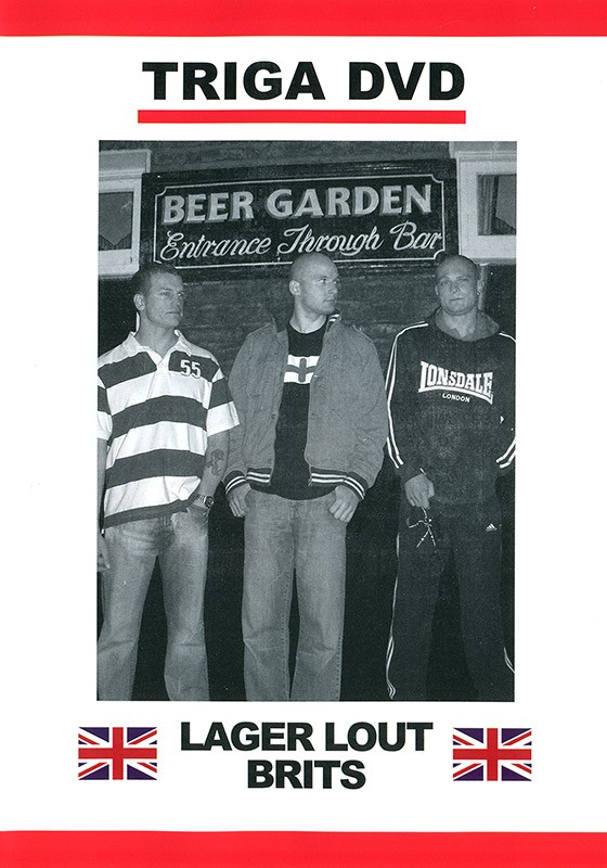 Lager Lout Brits DVD - Front