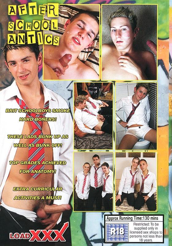 After School Antics DVD - Back