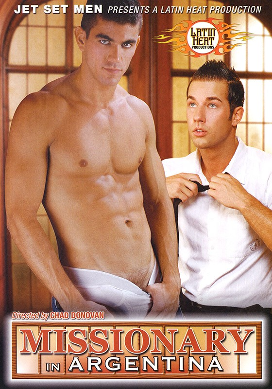 Missionary in Argentina DVD - Front
