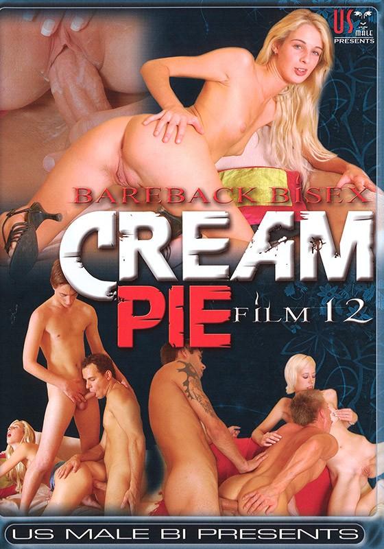 Bareback Bisex Creampie 12 DVD - Front
