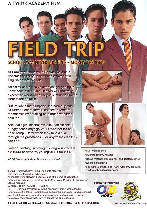 Field Trip DVD - Back
