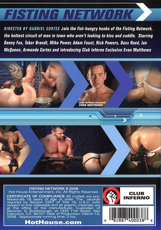 Fisting Network DVD - Back