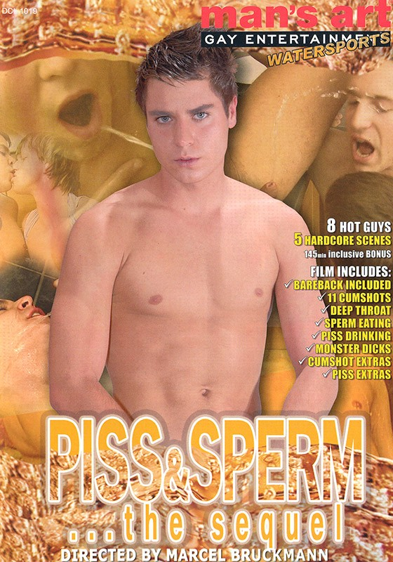 Piss & Sperm... The Sequel DVD - Front