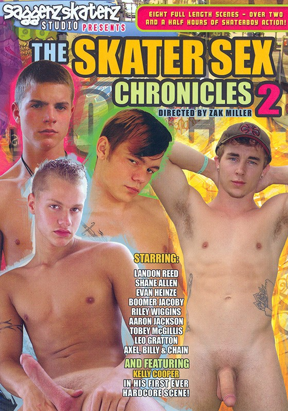 The Skater Sex Chronicles 2 DVD - Front