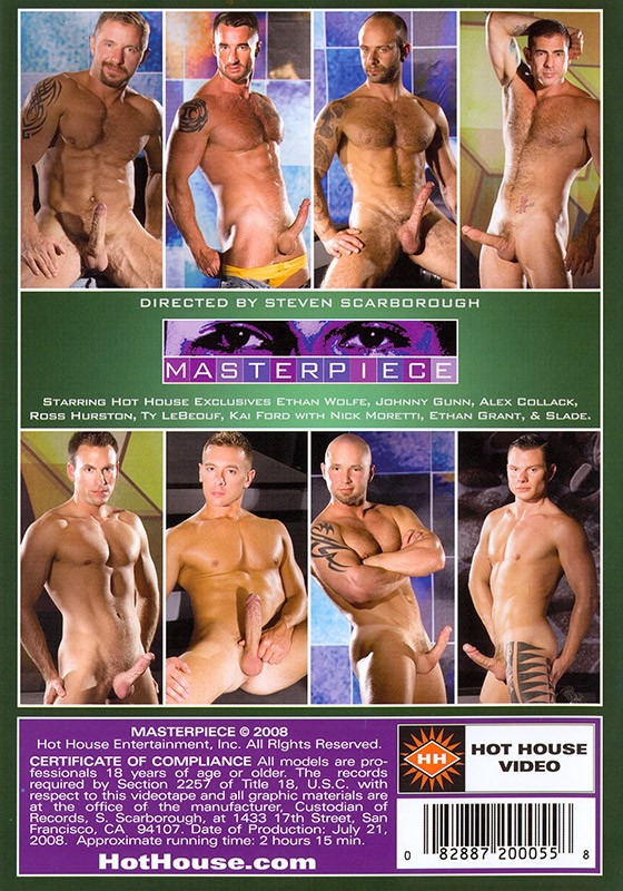 Masterpiece DVD - Back