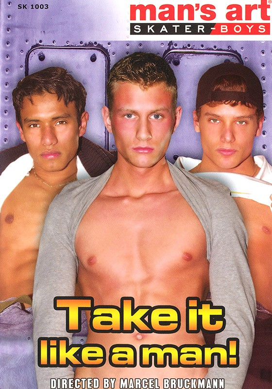 Take it Like a Man DVD - Front