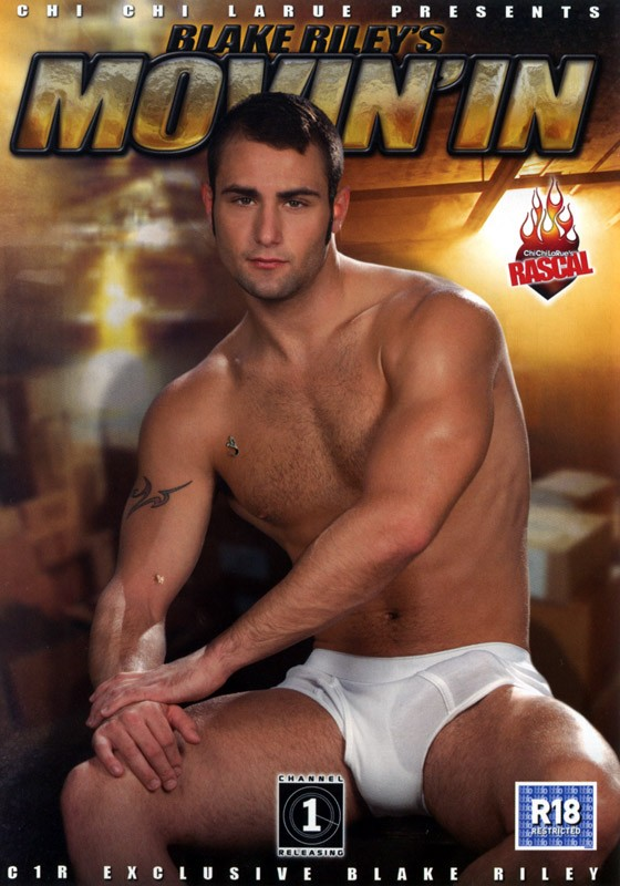 Blake Riley's Movin' In DVD - Front