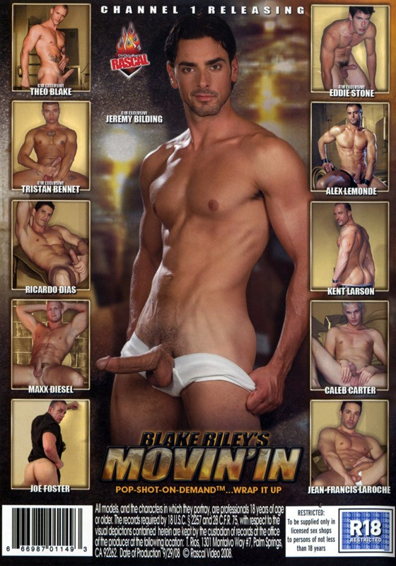 Blake Riley's Movin' In DVD - Back