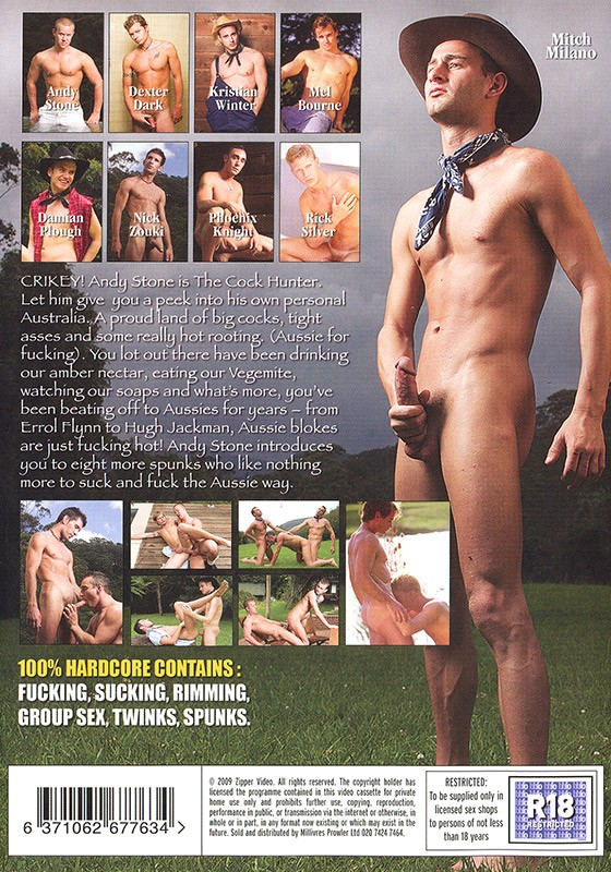 The Cock Hunter DVD - Back