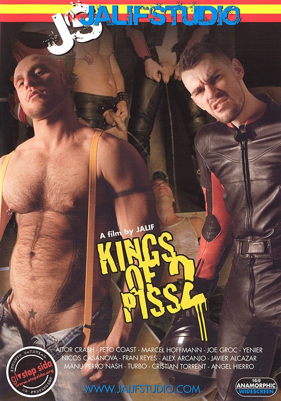 Kings of Piss 2 DVD - Front