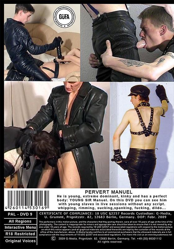 Pervert Manuel DVD - Back