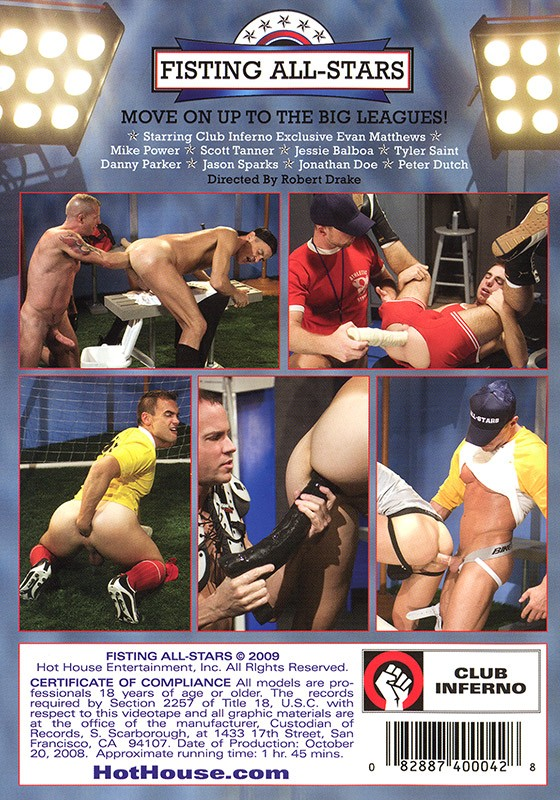 Fisting All-Stars DVD - Back