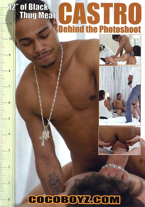 Castro: Behind the Photoshoot DVD - Front
