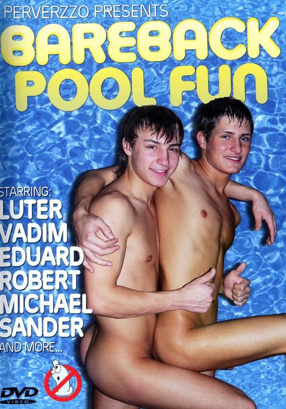 Bareback Pool Fun DVD - Front
