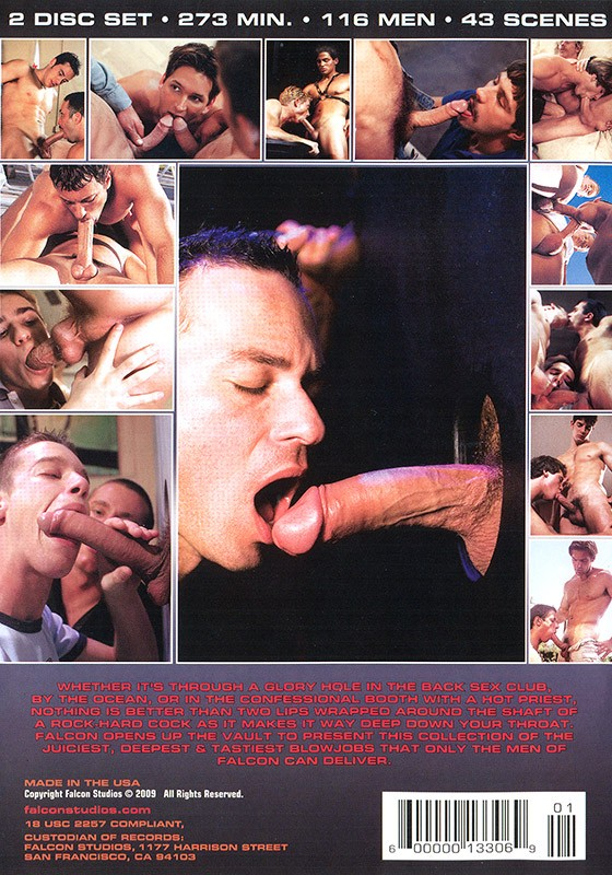 Face Fuckers volume 1 DVD - Back