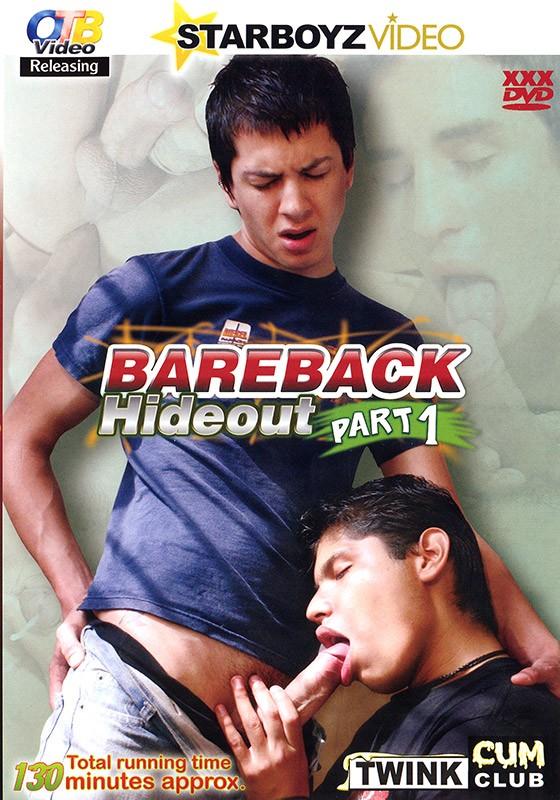 Bareback Hideout part 1 DVD - Front
