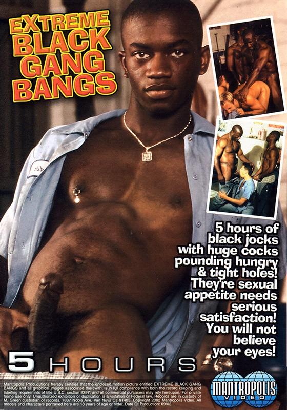 Extreme Black Gang Bangs DVD - Back