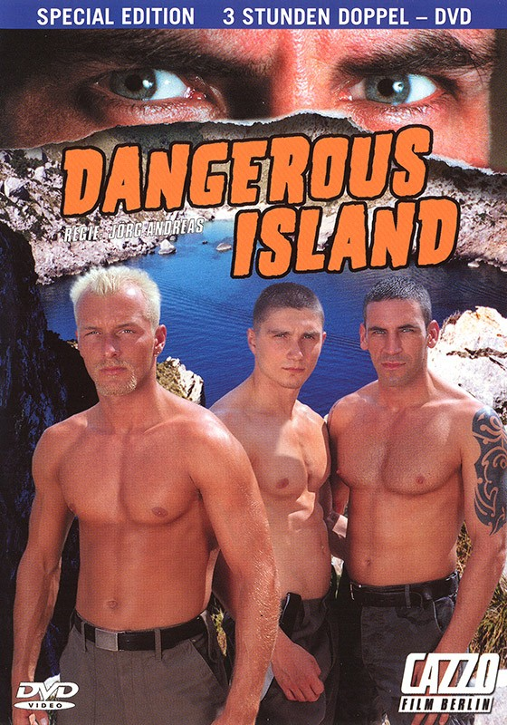 Dangerous Island DVD - Front