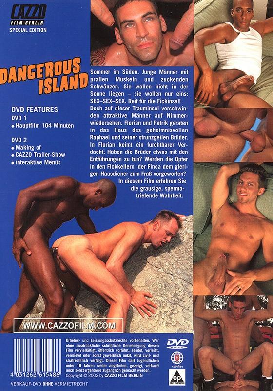 Dangerous Island DVD - Back