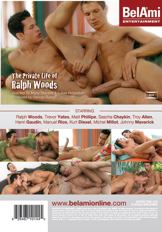 The Private Life of Ralph Woods DVD - Back