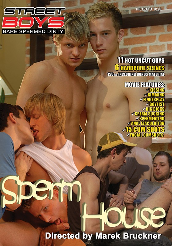 Spermhouse DVD - Front