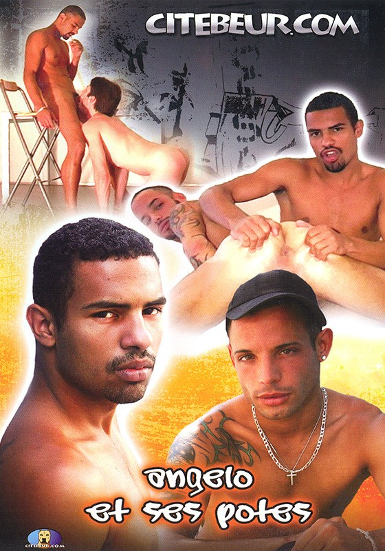 Angelo et ses potes DVD - Front