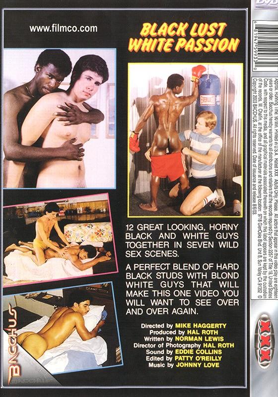 Black Lust White Passion DVD - Back
