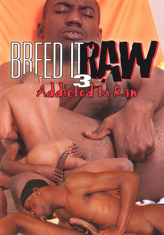 Breed It Raw 3: Addicted To Raw DVD - Front