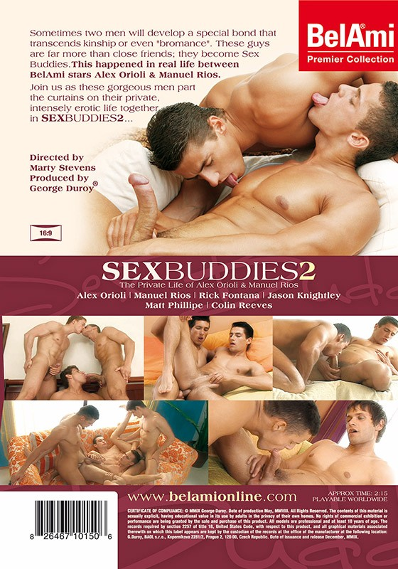 Sex Buddies 2 DVD - Back