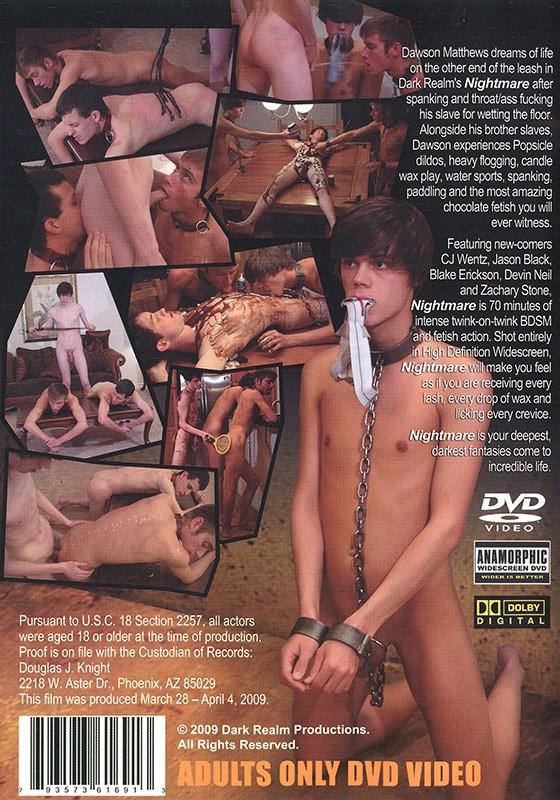 Nightmare DVD - Back