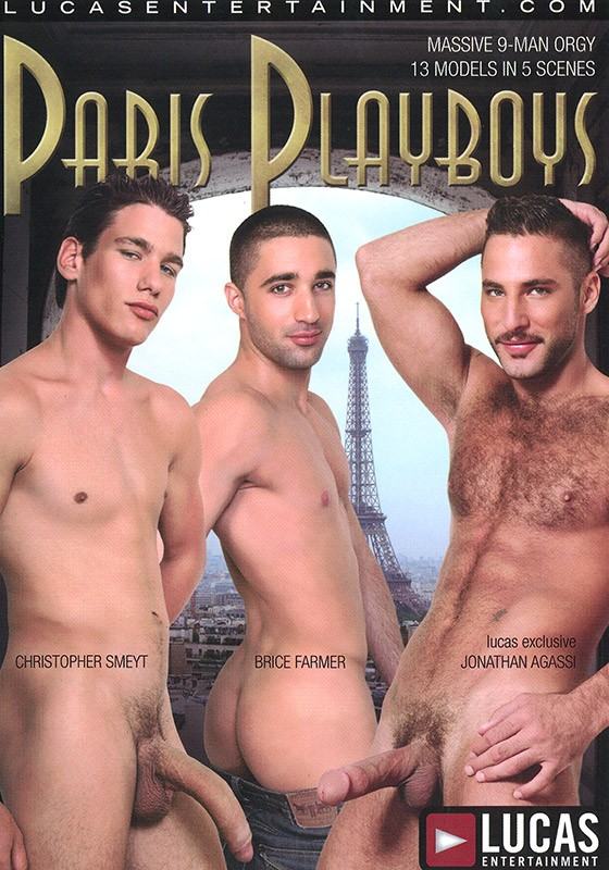 Paris Playboys DVD - Front