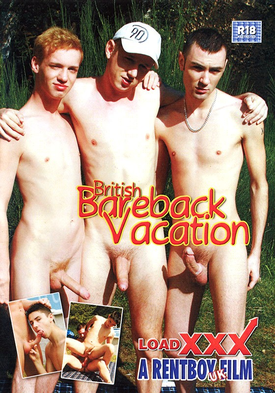British Bareback Vacation DVD - Front