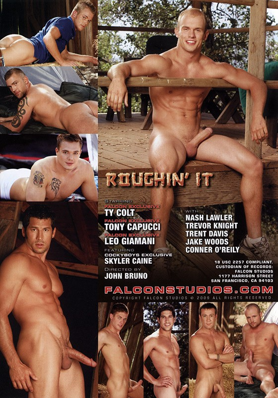 Roughin' It DVD - Back
